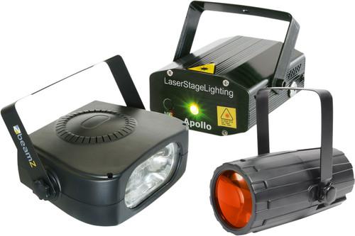 Beamz Light Package 4 : Moon+LaserR/G+ 150 Main Image