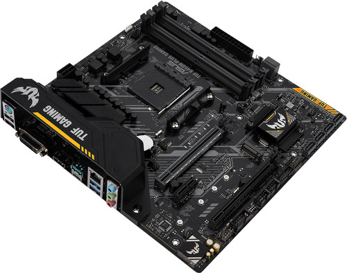 Asus TUF B450M-PLUS Gaming Main Image