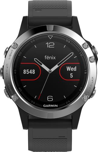Garmin Fenix 5 Zwart/Zilver Main Image