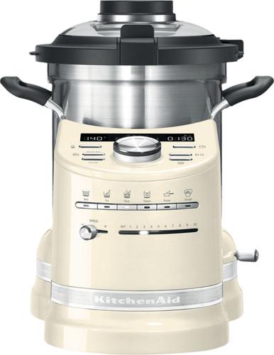 KitchenAid Robot cuiseur Artisan Blanc amande Main Image