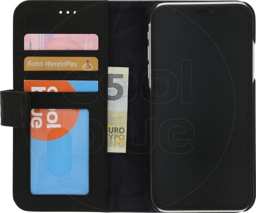 Decoded Coque Portefeuille en Cuir 2-en-1 pour Apple iPhone Xr Noir Main Image