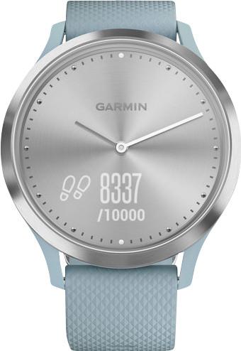 Garmin Vivomove HR Sport Argent/Bleu - S/M Main Image