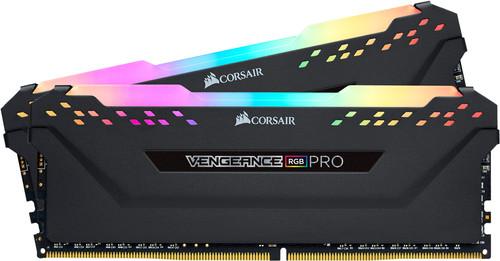 Corsair Vengeance RGB Pro 16 Go DDR4 DIMM 3200 Mhz/16 (2x8GB) Noir Main Image