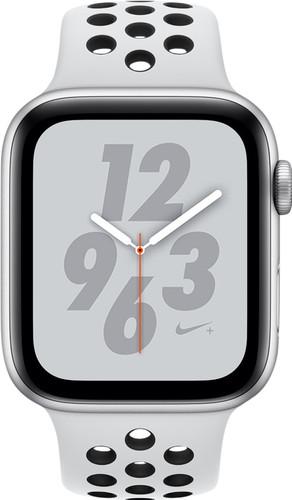 Apple Watch Series 4 Bracelet sportif 40 mm Nike+ Argent Aluminium Main Image
