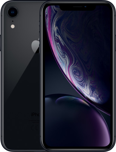 Apple iPhone Xr 128 GB Zwart Main Image
