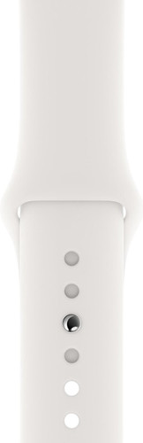 Apple Watch 42/44mm Silicone Watch Strap Sport White Main Image
