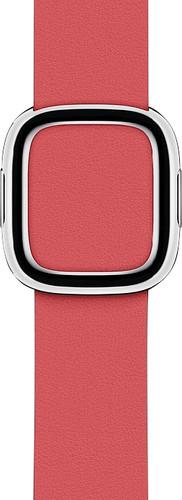 Apple Watch 40mm Modern Leren Horlogeband Pioen - Small Main Image