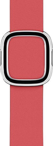 Apple Watch 40mm Modern Leren Horlogeband Pioen - Medium Main Image
