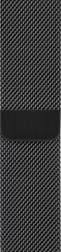 Apple Watch 38/40mm Watch Strap Milanese Space Black Main Image