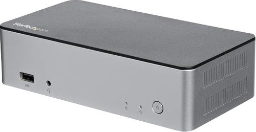 StarTech Station d'accueil USB Type-C à deux écrans 4K avec une puissance de charge de 60 Main Image