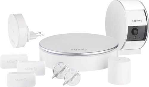 Somfy Home Alarm + Indoor Camera Blanc Main Image