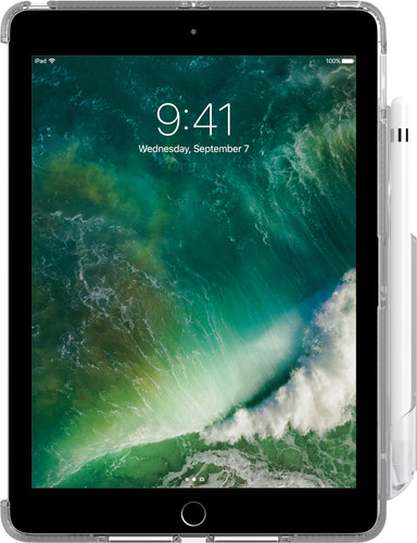"Tech21 Impact Clear iPad 9,7"" avec Support Apple Pencil Transparent Main Image"