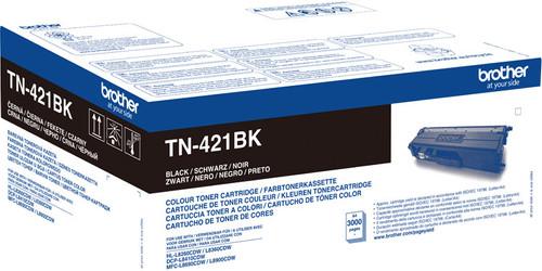 Brother TN-421 Toner Zwart Main Image