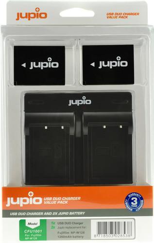 Jupio Kit: 2x Batterie NP-W126S + Double Chargeur USB Main Image