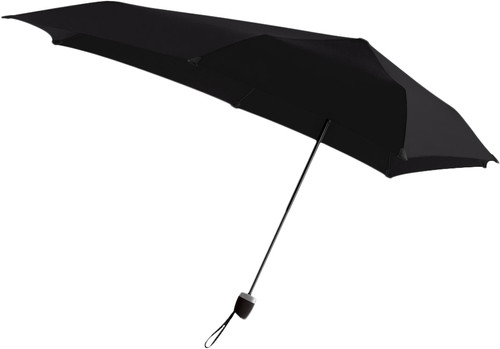 Senz° Manual Parapluie tempête Pure Black Main Image