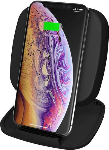 ZENS Ultra Fast Chargeur sans fil Support 15 W Noir Main Image
