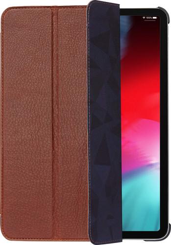 Decoded Slim Cover en cuir iPad Pro 11 pouces (2018)/(2020) Book Case Brun Main Image