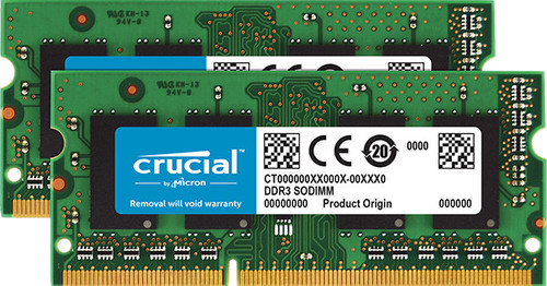 Crucial 16 Go DDR3L 1600 SODIMM for Mac Main Image