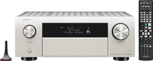 Denon AVR-X4500H Zilver Main Image