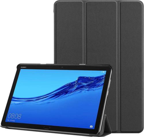 Just in Case Smart Tri-Fold Huawei Mediapad M5 Lite 10.1 Book Case Noir Main Image