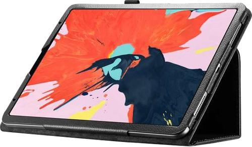 Just in Case Book Case Leather Protective Apple iPad Pro 11 pouces (2018) book case Noir Main Image