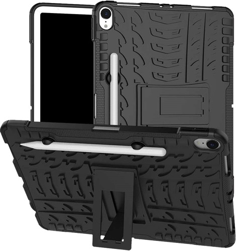 Just in Case Rugged Hybrid Apple iPad Pro 11 Inch (2018) Back Cover Black Main Image