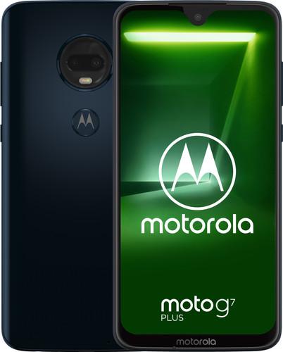 Motorola Moto G7 Plus Blauw Main Image