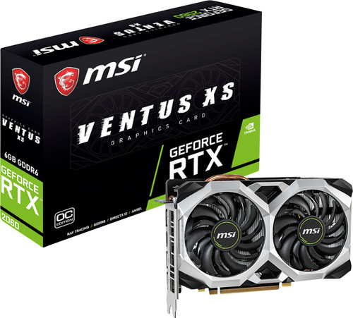 MSI Geforce 6GB D6 RTX 2060 Ventus XS 6G OC Main Image