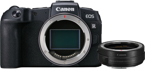 Canon EOS RP Body + EF-EOS R Adapter Main Image
