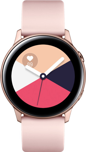 Samsung Galaxy Watch Active Rose Gold Main Image