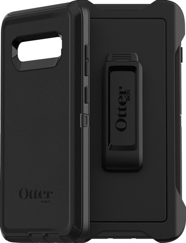 Second Chance OtterBox Defender Samsung Galaxy S10 Plus Full Body Case Black Main Image