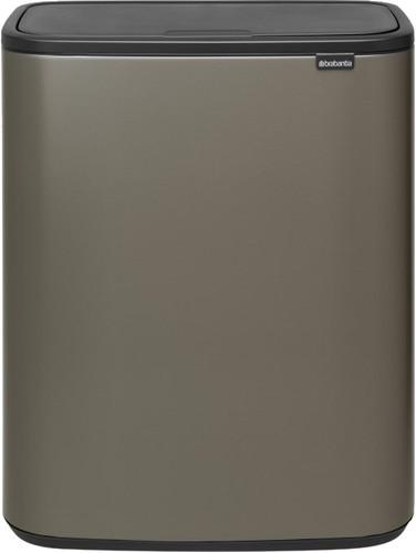 Brabantia Bo Touch Bin 2 x 30 Litres Platine Main Image