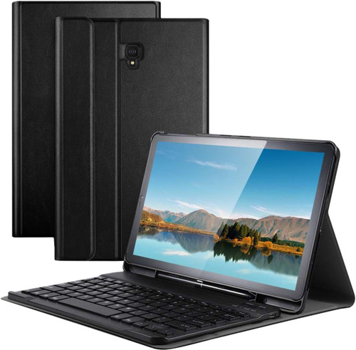 Just in Case Premium Samsung Galaxy Tab S4 Black AZERTY Main Image