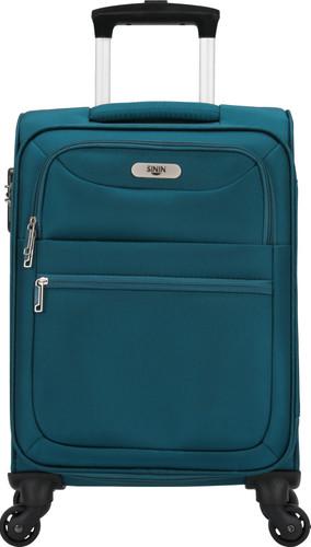 SININ Soft Valise à 4 Roulettes 55 cm Bleu Main Image