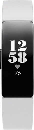 Fitbit Inspire HR Noir/Blanc Main Image
