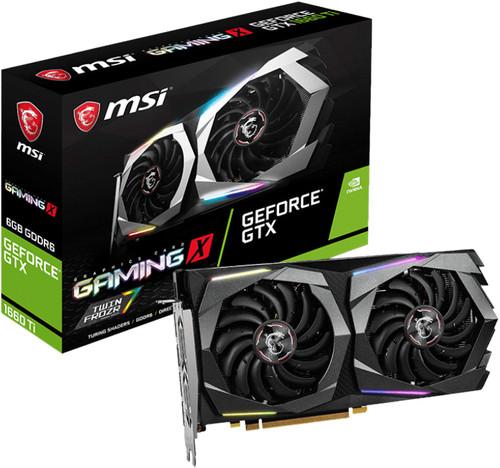MSI GeForce GTX 1660 Ti GAMING X 6G Main Image