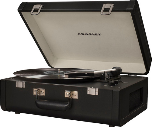 Crosley Portfolio Black Main Image