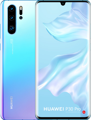 Huawei P30 Pro 128GB Wit/Paars Main Image