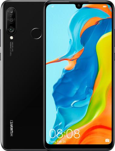 Huawei P30 Lite 128 GB Zwart Main Image