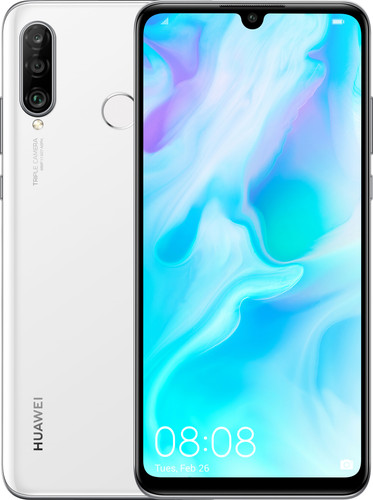 Huawei P30 Lite 128GB White Main Image
