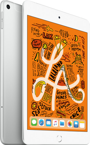 Apple iPad Mini 5 64GB WiFi + 4G Silver Main Image