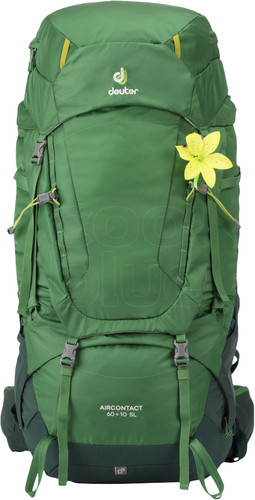 Deuter Aircontact 60 + 10L SL Leaf/Forest Main Image