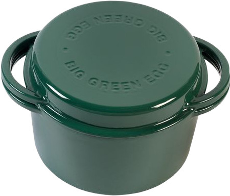 Big Green Egg Green Dutch Oven Rond Main Image