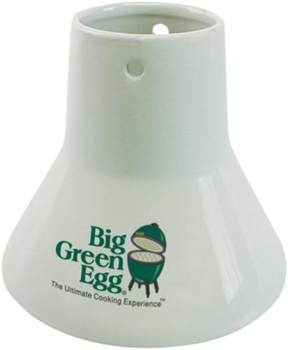 Big Green Egg Sitting Chicken Ceramic Roaster Main Image