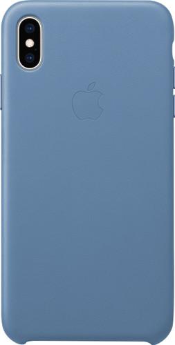 Apple iPhone Xs Max Leather Case Cornflower blue Main Image
