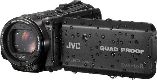 JVC GZ-R445BEU Black Main Image