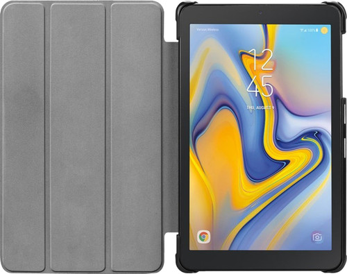 Just in Case Samsung Galaxy Tab A 8.0 (2017) Cuir Noir Main Image