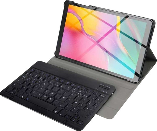 Just in Case Premium Bluetooth Keyboard Samsung Galaxy Tab S5e Book Case Black AZERTY Main Image
