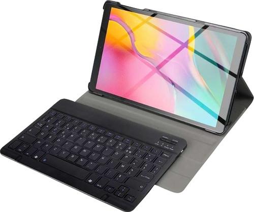 Just in Case Premium Coque Clavier Bluetooth Samsung Galaxy Tab S5e Noir AZERTY Main Image