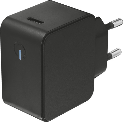 Trust Summa Charger without Cable 18W Power Delivery 3.0 Black Main Image